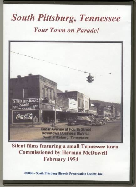 South Pittsburg, Tennessee - Your Town on Parade! - 1954