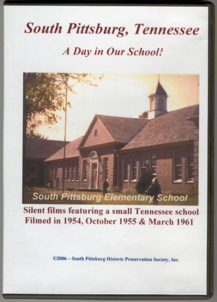 South Pittsburg, Tennessee - A Day in Our School! - 1954, 1955 & 1961